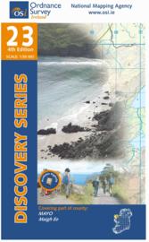 Wandelkaart Ordnance Survey / Discovery series | Mayo 23 | ISBN 9781907122200