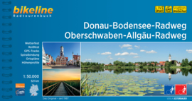Fietsgids Donau - Bodenseeweg - Oberschwaben-Allgäu-Weg - 521 km | Bikeline | ISBN 9783850008747