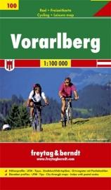 Wegenkaart - Fietskaart Vorarlberg | Freytag & Berndt | 1:100.000 | ISBN 9783707905038