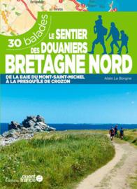 Wandelgids Le sentier des douaniers Bretagne Nord | Ouest France | ISBN 9782737384301