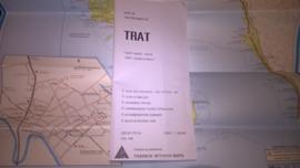 Wegenkaart Trat - Centraal Thailand | Prannok Witthaya Maps | 1:190.000