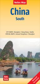 Wegenkaart China Zuid   Nelles   1:1,5 miljoen   ISBN 9783865740960