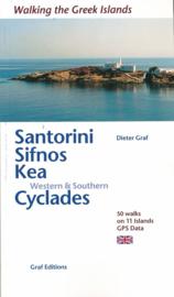 Wandelgids Santorini Sifnos Kea/Western & Southern Cyclades | Dieter Graf | ISBN 9783981404791