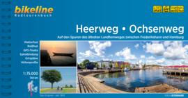 Fietsgids Heerweg-Ochsenweg | Bikeline | ISBN 9783850007658