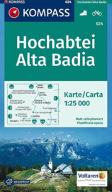 Wandelkaart Hochabtei - Alta Badia | Kompass 624 | 1:25.000 | ISBN 9783850265355