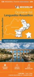 Wegenkaart Languedoc Roussillon 2020 | Michelin 17526 | ISBN 9782067243897