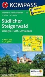 Wandelkaart Südlicher Steigerwald  | Kompass 168 | 1:50.000 | ISBN 9783850269988