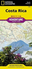 Wegenkaart Costa Rica | National Geographic 3100 | 1:350.000 | ISBN 9781566953146