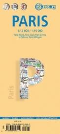 Wegenkaart Parijs - Paris   Borch   ISBN 9783866093119