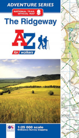 Wandelatlas The Ridgeway | A-Z Maps | 1:25.000 | ISBN 9781782571582