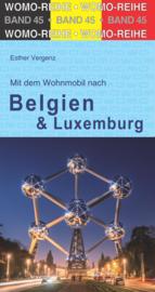 Campergids België en Luxemburg | WOMO verlag 45 | ISBN 9783869034546