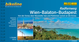 Fietsgids Wien - Balaton - Budapest (Wenen - Boedapest) | Bikeline | ISBN 9783850007351