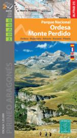 Wandelkaart Parque Nacional Ordesa y Monte Perdido | Editorial Alpina | 1:25.000 | ISBN 9788480908146
