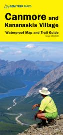Wandelkaart Canmore & Kananaskis Village | Gem Trek nr. 6 | 1:50.000 |  ISBN 9781895526905