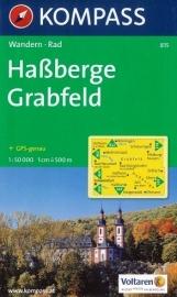 Wandelkaart Haßberge-Grabfeld | Kompass 815 | ISBN 9783850261876