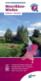 Wandelkaart Weerribben - Wieden | ANWB | 1:33.333 | ISBN 9789018046439