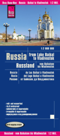 Wegenkaart Rusland, Vom Baikalsee Bis Wladiwostok - Baikalmeer Vladivostok | Reise Know How | 1:2 miljoen | ISBN 9783831773800