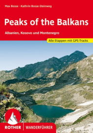 Wandelgids - Trekkinggids Peaks of the Balkans | Rother Verlag | ISBN 9783763344918