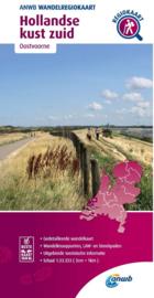 Wandelkaart Hollandse Kust Zuid | ANWB | 1:33.333 | ISBN 9789018046613