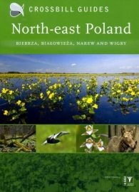 Natuurgids-Wandelgids North-east Poland - Polen Biebrza, Bialowieza en Wigry  | Crossbill Guides | ISBN 9789491648007