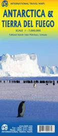 Landkaart Antartica | ITMB | 1:8 miljoen | Landkaart Zuidpool | ISBN 9781771290074