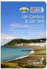 Fietsgids Lon Cambria & Lon Teifi  - Fishguard - Aberystwyth - Shrewsbury | Pocket Mountain-Sustrans | ISBN 9781907025228