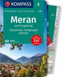 Wandelgids Merano en Omgeving | Kompass 5704 | ISBN 9783990449011