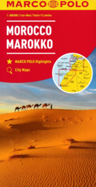 Wegenkaart Marokko | Marco Polo | 1:800.000 | ISBN 9783829739290