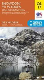 Wandelkaart Snowdon - Conwy Valley - Dyffryn Conwy | Ordnance Survey Explorer maps 17 | 1:25.000 | ISBN 9780319263532