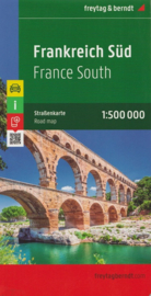 Wegenkaart Frankrijk Zuid | Freytag & Berndt | 1:500.000 | ISBN 9783707905816