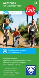 Fietskaart  Westhoek met Leiestreek-west 34 | Falk | ISBN 9789028727908