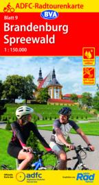 Fietskaart Brandenburg / Spreewald | ADFC nr. 09 | 1:150.000 | ISBN 9783969900420