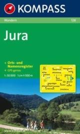 Wandelkaart Jura | 1:50.000 | Kompass | ISBN 9783850262156