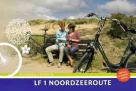 Fietsgids LF 1 Noordzeeroute | Buijten & Schipperheijn | ISBN 9789058816382