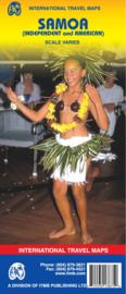 Wegenkaart  Samoa (Amerikaans en Onafhankelijk) | ITMB | 1:80.000 | ISBN 9781553413875