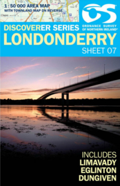 Wandelkaart Londonderry | Discovery Northern Ireland 07 - Ordnance survey | 1:50.000 | ISBN 9781905306961