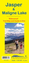 Wandel - Wegenkaart Jasper & Maligne Lake map | GEM Trek nr. 1 | 1:100.000 | ISBN 9781895526684