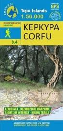 Wandelkaart Korfoe - Corfu | Anavasi 9.4 | 1:56.000 | ISBN 9789609412759