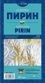 Wandelkaart Pirin-Gebirge Noord | Iskar Tour | 1:25.000 | ISBN 9786199047668