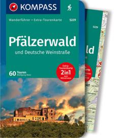 Wandelgids Pfälzerwald & Deutsche Weinstrasse | Kompass 5229 | ISBN 9783850269391