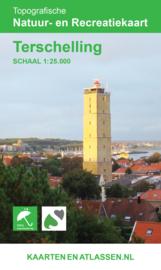 Wandelkaart Terschelling | Vrije Uitgever | ISBN 9789077350935