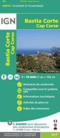 Wandelkaart - Fietskaart Bastia - Corte - Cap Corse | IGN Nr. 30 | 1:75.000  | ISBN 9782758529071