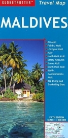 Wegenkaart  Malediven - Maldives | Globetrotter - New Holland | ISBN 9781845377755