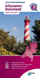 Wandelkaart Schouwen Duiveland | ANWB | 1:33.333 | ISBN 9789018046644