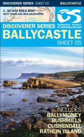 Wandelkaart Ballycastle | Discovery Northern Ireland 05 - Ordnance survey | 1:50.000 | ISBN 9781911643005