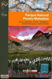 Wandelkaart Posets - Maladeta / Aneto / Perdiguero | Editorial Alpina | Centrale Pyreneeën | 1:25.000 | ISBN 9788480904896