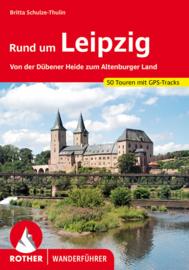 Wandelgids Leipzig..Rund um : Von der Dübener Heide zum Altenburger Land   Rother Verlag   ISBN 9783763345809