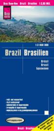 Wegenkaart Brazilië - Brasilien | Reise Know how | 1:3,85 miljoen | ISBN 9783831774340
