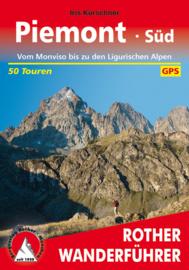 Wandelgids Piemonte Süd | Rother Verlag | Vom Monviso bis zu den Ligurischen Alpen | ISBN 9783763343591
