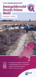 Wandelkaart Dwingelderveld - Drents Friese Wold | ANWB | 1:33.333 | ISBN 9789018046422
